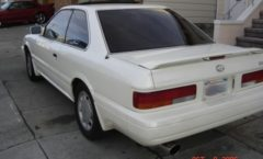Parts - Nissan Leopard and Infiniti M30 convertible spoiler