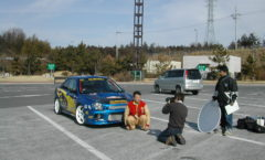 Impreza meet and Six Star Magazine photoshoot - 2004