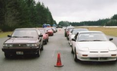 "Drift practice at ""Field of Dreams"" - Belfair, WA 2005"