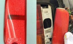 Kouki F31 Rear taillight corner lens comparison and install.