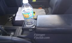 Write up: Acura Legend armrest cup holder
