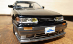 Well done S Package Nissan leopard scale model