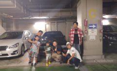 Iidabashi mini meet 2 (Ogawara, Itabashi, Kimura-san and Roger)