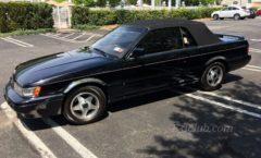 Low mile Black M30 convertible