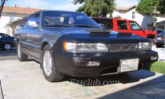 Parts - Infiniti M30 and Nissan Leopard car bras and covers