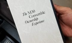 M30 Convertible Ownership Experience VHS tape