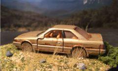Rusting Zenki Nissan Leopard model 2