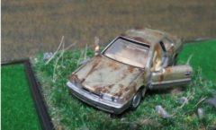 Tomica Premium Nissan leopard rusting