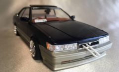 1/24 scale Nissan Leopard (with hoses)