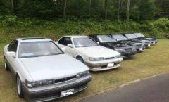 Old Car event, Hachimantai 2018