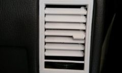 Infiniti M30 solutions 1: Passenger side vent and seat button prototypes