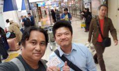 Arrival to Narita airport