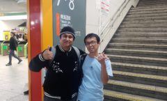 Evening in Yokohama with Satoshi-san
