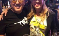 Ashleigh met Mike Kojima at SEMA 2019