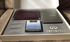 1992 Infiniti M30 Convertible Welcome Kit
