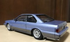 1/24 XS light blue F31 Nissan leopard model