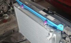 Ultra Heaven radiator bracket for Project Leopard